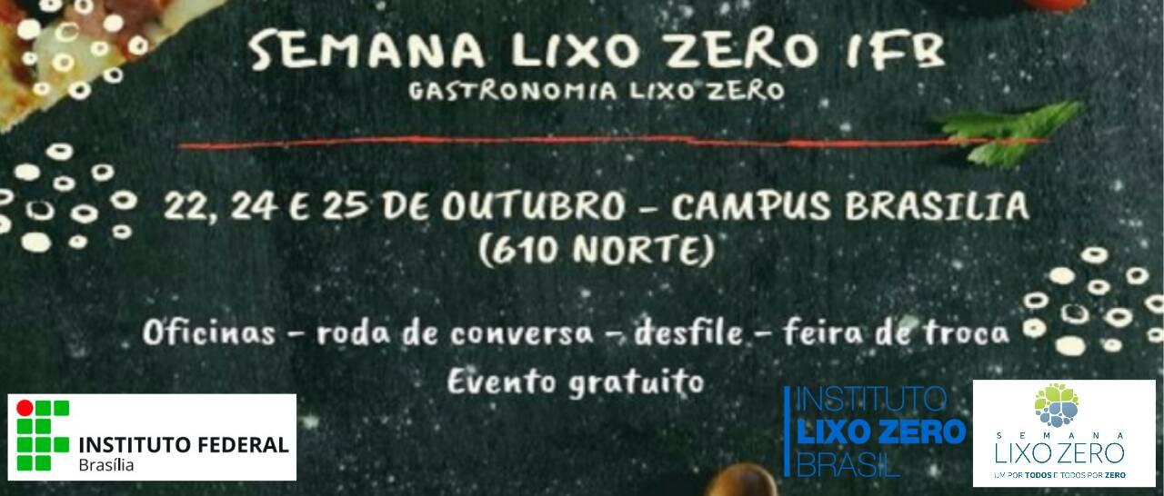 Campus Brasília promove Semana Lixo Zero