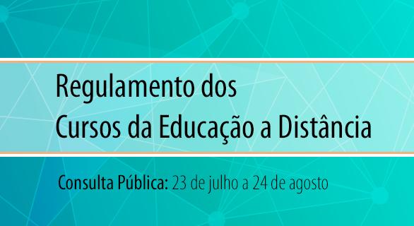 Aberta Consulta Pública para Regulamento dos cursos da Educação a Distância do IFB