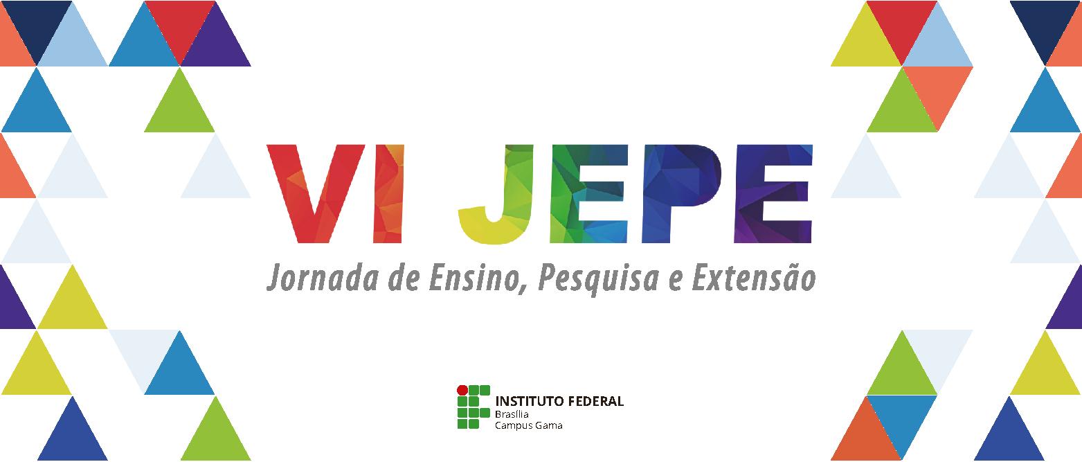 VI JEPE acontece de 23 a 26 de maio - Prorrogado prazo para submissão de resumos até o dia 28 de abril