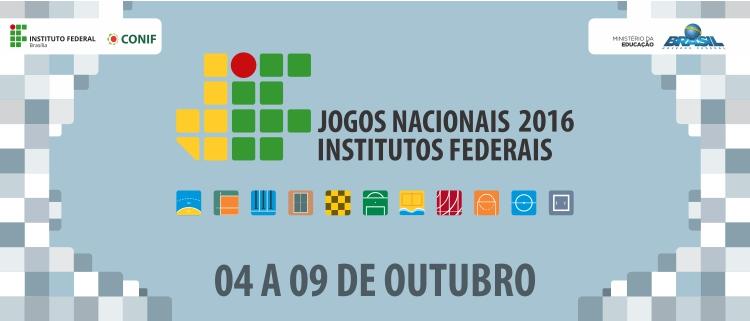 Etapa Nacional dos Jogos dos Institutos Federais começa dia 4