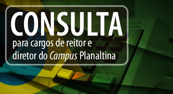 Comissão divulga código eleitoral para processo eletivo de reitor e diretor do Campus Planaltina