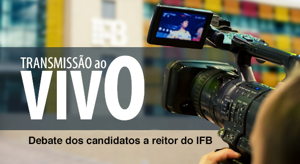 4c470541631ff Assista, ao vivo, pelo canal do Instituto no YouTube, à transmissão da 31°  Reunião Ordinária do Conselho Superior do Instituto Federal de Brasília  (IFB), ...